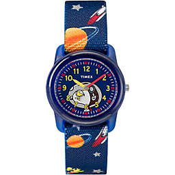 Timex® Time Machines Children's 28mm Peanuts Outer Space Watch in Blue