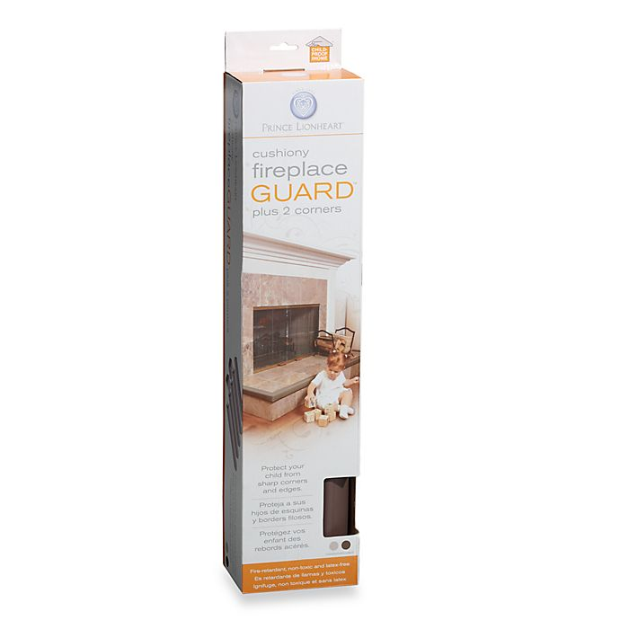 Alternate image 1 for Prince Lionheart® Cushiony Fireplace Guard™