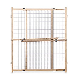 Toddleroo by North States® Extra-Wide Wire Mesh Gate