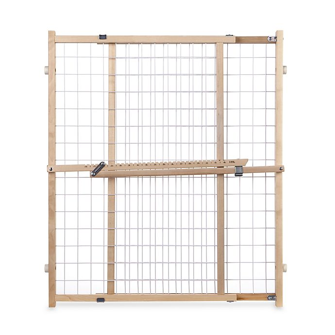 Alternate image 1 for Toddleroo by North States® Extra-Wide Wire Mesh Gate