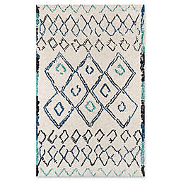 Momeni Margaux Geometric Area Rug in White