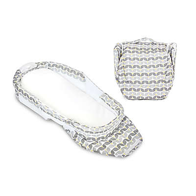 Baby Delight® Snuggle Nest® Harmony Portable Infant Sleeper in Silver Blossom