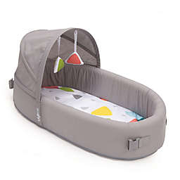 LulyBoo® Bassinet To-Go Metro Travel Bed in Grey