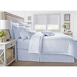 Wamsutta® 500-Thread-Count PimaCott® Damask 3-Piece Full/Queen Comforter Set in Light Blue