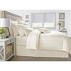 Wamsutta® 500-Thread-Count PimaCott® Damask King Comforter Set in Ivory