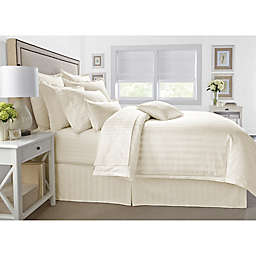 Wamsutta® 500-Thread-Count PimaCott® Damask 2-Piece Twin Comforter Set in Ivory