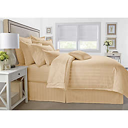 Wamsutta® 500-Thread-Count PimaCott® Damask 3-Piece Full/Queen Comforter Set in Honey