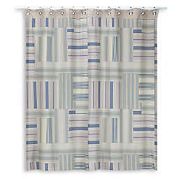 Creative Bath Ticking Stripe Shower Curtain Collection