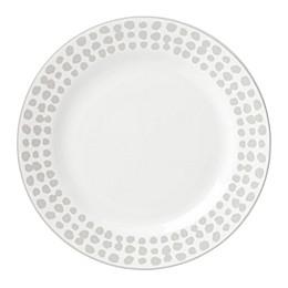kate spade new york Spring Street™ Flax Dinner Plate