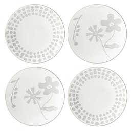 kate spade new york Spring Street™ Flax Tidbit Plates (Set of 4)