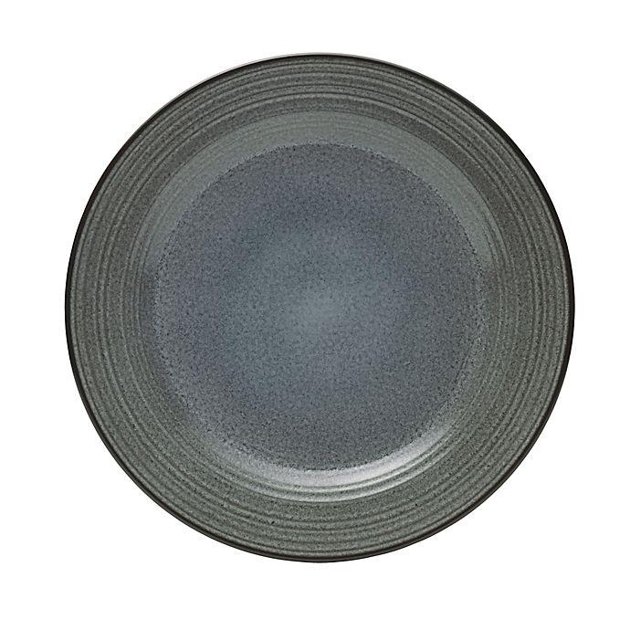 Alternate image 1 for Mikasa® Swirl Speckle 12.5-Inch Round Platter in Graphite