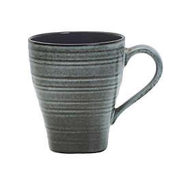 Mikasa® Swirl Speckle Square Mug in Graphite
