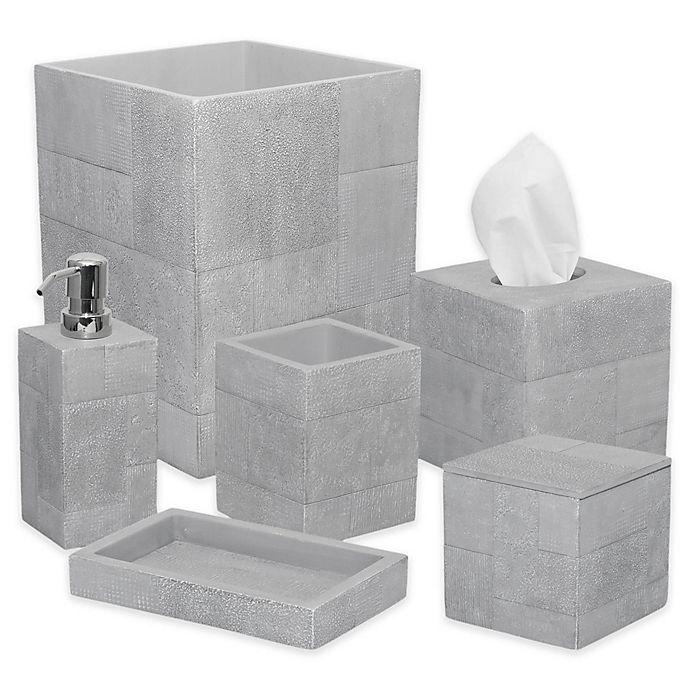 Alternate image 1 for DKNY Cornerstone Bath Ensemble in Grey