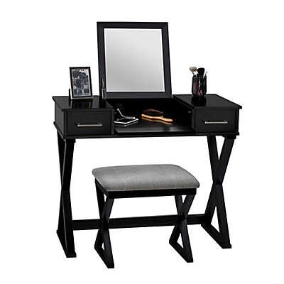 Linon Home 2-Piece Alexis Vanity Set