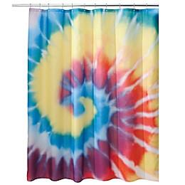 iDesign® Tie-Dye Shower Curtain