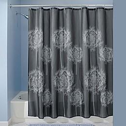 iDesign® Dandelion Shower Curtain