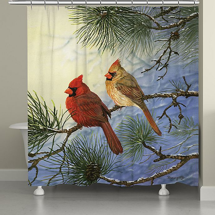 Alternate image 1 for Laural Home Winter Solitude Shower Curtain