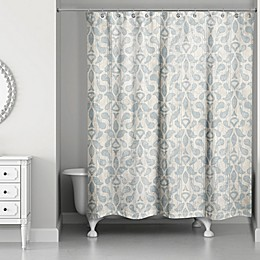 Designs Direct Damask Shower Curtain