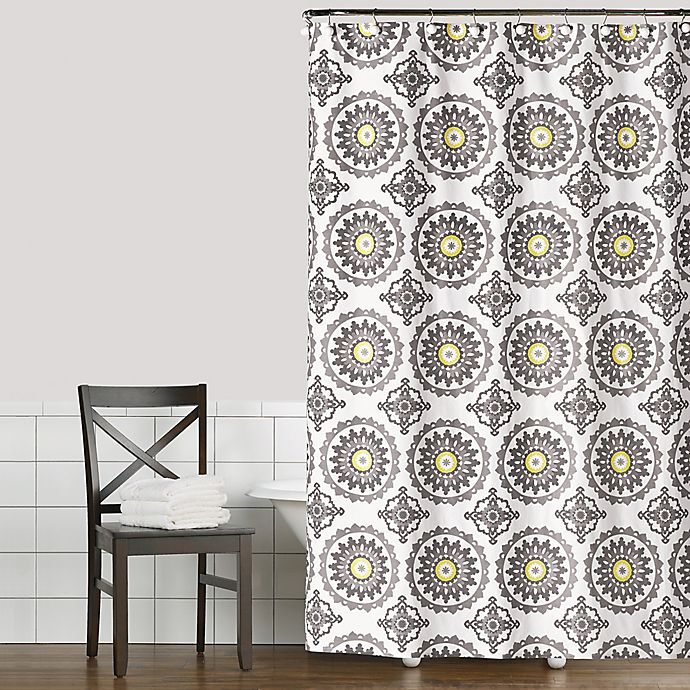 Alternate image 1 for Saturday Knight Suzette Shower Curtain