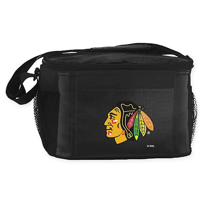 Alternate image 1 for NHL Chicago Blackhawks 6-Can Cooler Bag