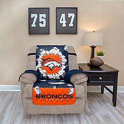 NFL Denver Broncos Explosion Recliner Cover