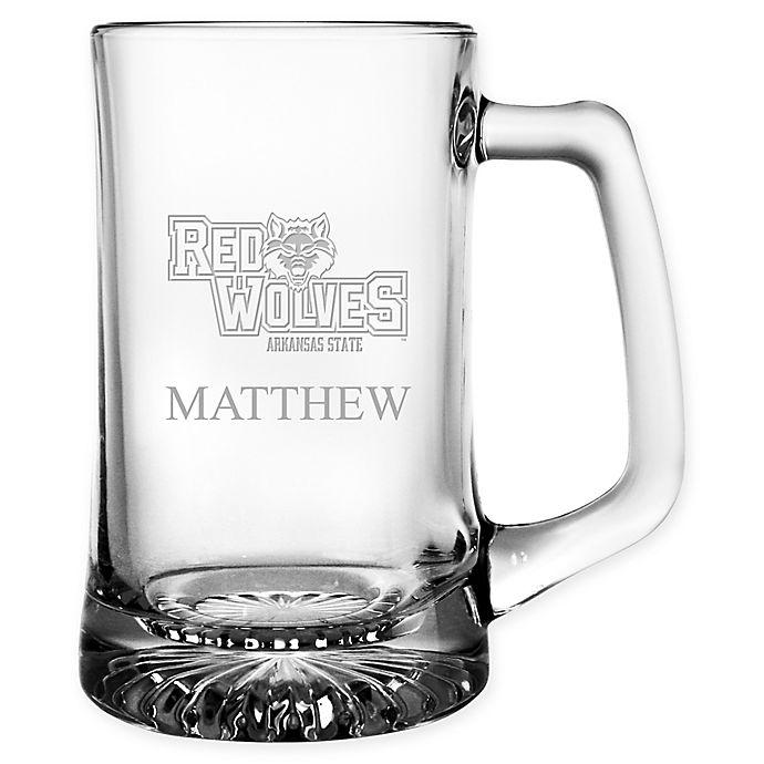 Alternate image 1 for Arkansas State University 15 oz. Glass Sport Mug