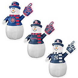 MLB Inflatable Snowman Collection