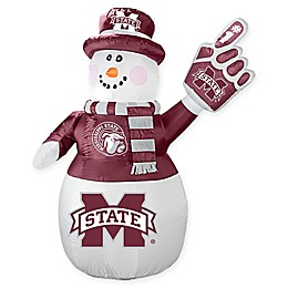 Mississippi State University Inflatable Snowman