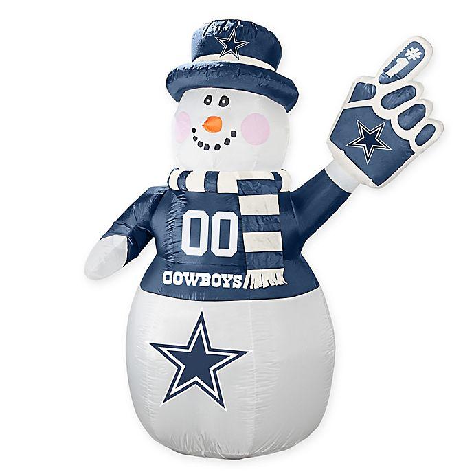98d9044352d NFL Dallas Cowboys Inflatable Snowman