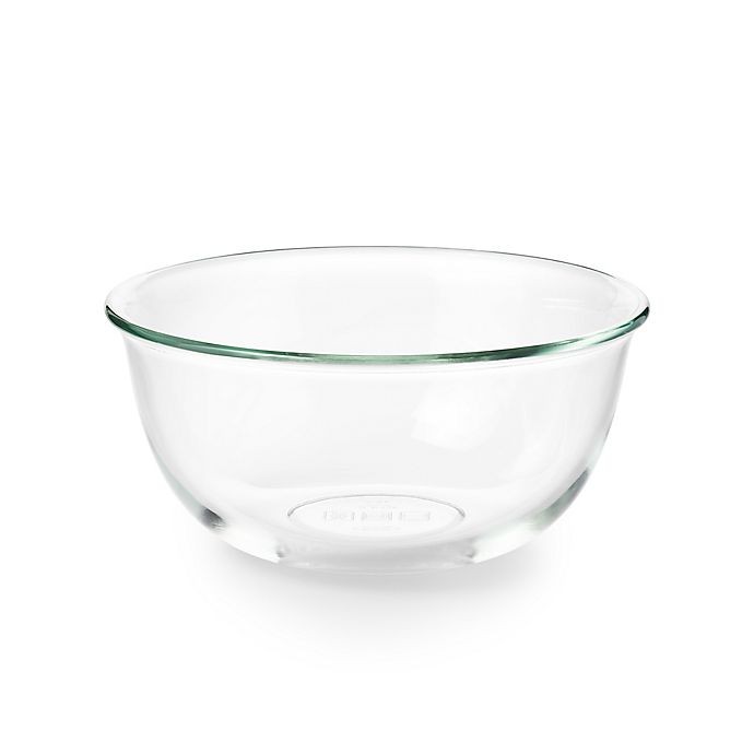 Alternate image 1 for OXO Good Grips® 2.5-Quart Clear Glass Mixing Bowl