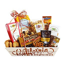 California Delicious Sweet and Salty Sampler Gift Basket