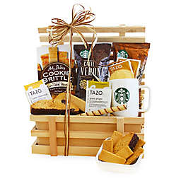 California Delicious Country Coffee Crate Gift Basket