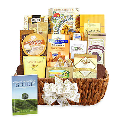 California Delicious Caring Condolences Sympathy Gift Basket