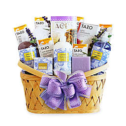 California Delicious Luxurious Lavender Retreat Spa Basket