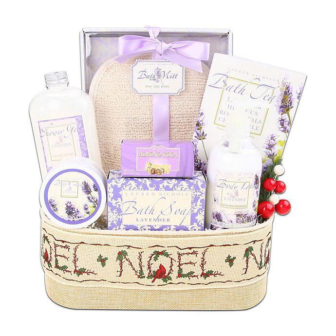 Alder Creek Lavender Spa Gift Basket