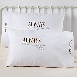 Kiss Me Goodnight Pillowcases (Set of 2)