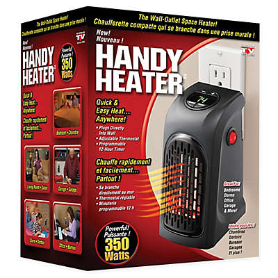 Handy Heater™ 350-Watt Portable Plug-In Heater