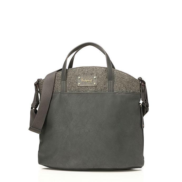 Alternate image 1 for BabyMel™ Grace Diaper Bag in Grey