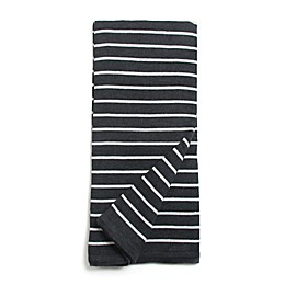 Amity Home Dustin Throw Blanket in Grey/Black