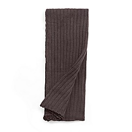 Amity Home Sammy Throw Blanket in Charcoal Grey
