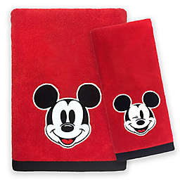 Disney® Mickey Mouse Big Face Bath Towel Collection