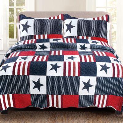 Americana Quilt Set Bed Bath Amp Beyond