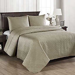 Brielle Basketweave Quilt Set