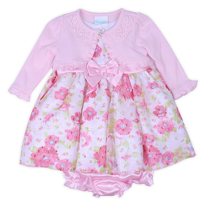 a203790f08c0 Nannette Baby® 3-Piece Floral Cardigan
