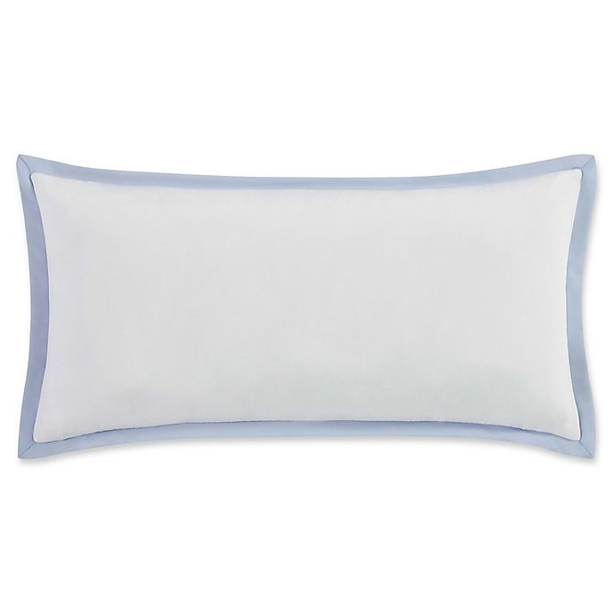 Alternate image 1 for Vince Camuto® Nantucket Bolster Throw Pillow in Blue