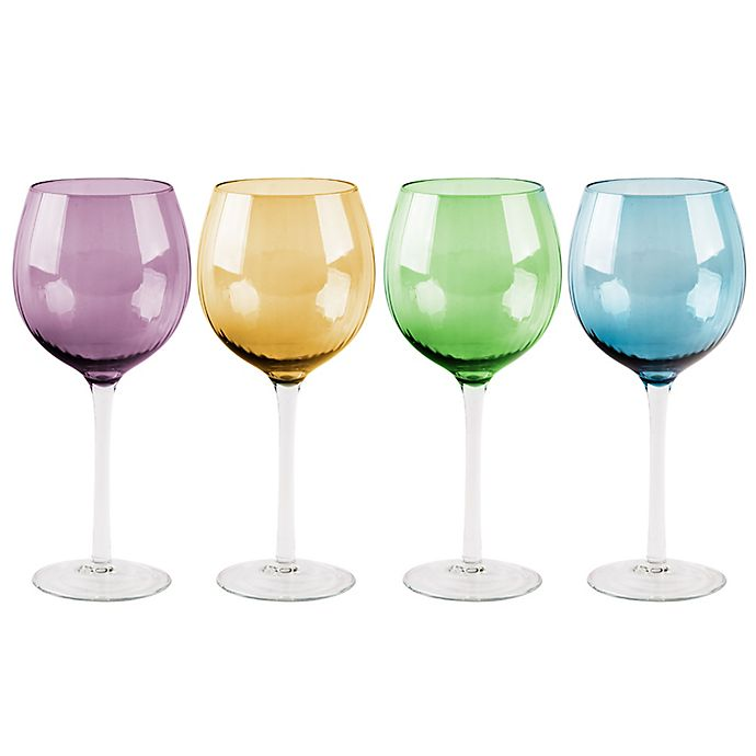 Alternate image 1 for Jewel Red Wine Glasses (Set of 4)