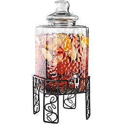 Bon Appetit Glass Beverage Dispenser with Stand