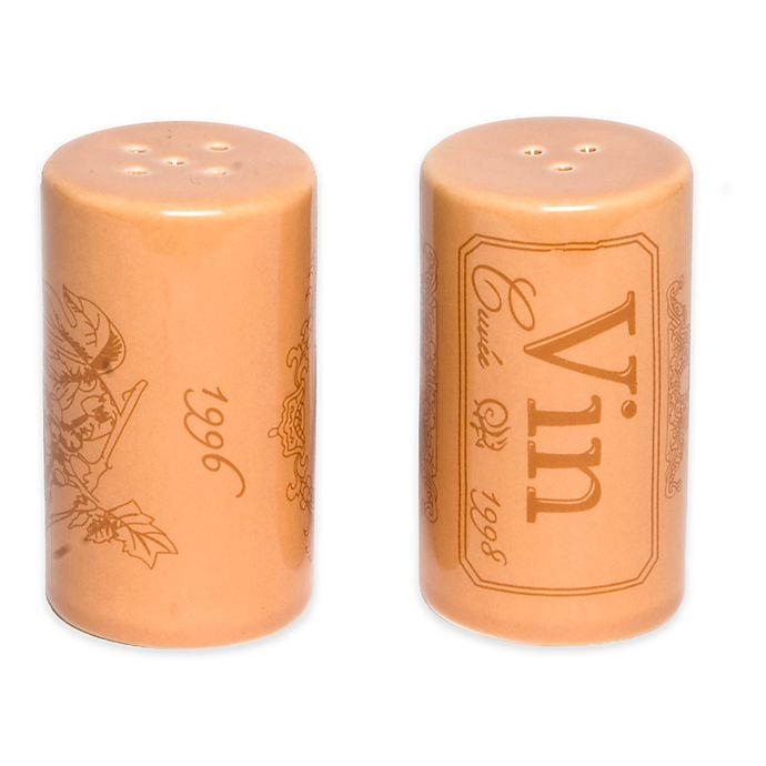 Alternate image 1 for Core Kitchen Cork Salt & Pepper Shaker Set