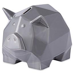 Varaluz Casa Origami Zoo Ceramic Piggy Bank
