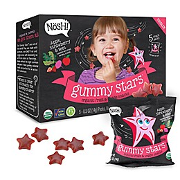 Nosh™ 5-Pack Apple Strawberry & Beet Gummy Stars
